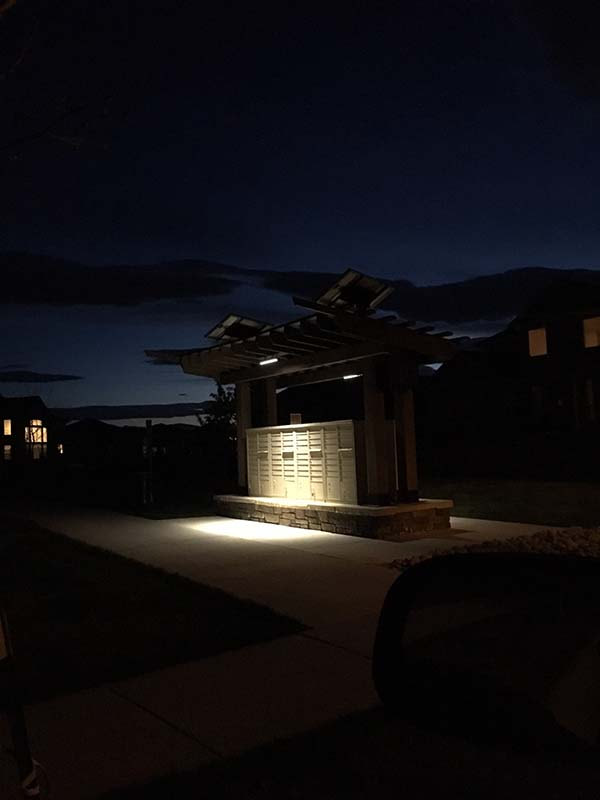 Camp Pendleton | Solar Mailbox Lighting